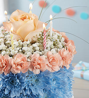 Phenomenal Birthday Wishes Flower Cake Coastal Floraship Birthday Cards Printable Benkemecafe Filternl